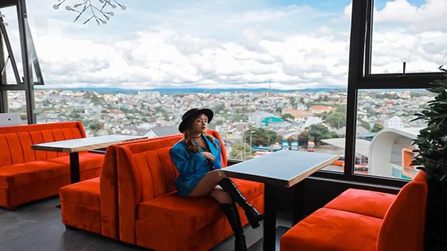 View tuyệt đẹp tại Amazing cafe