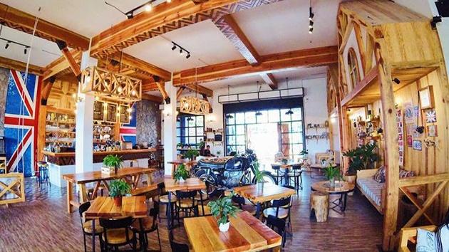 Woodstock coffee ở Đà Lạt