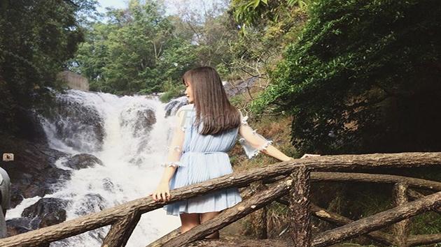 Các trò chơi tại khu du lịch thác Datanla