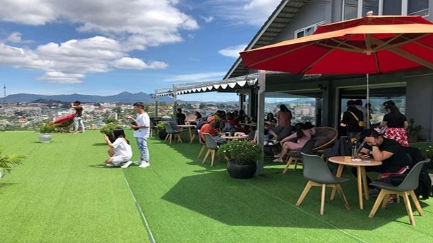 Cafe Dalat golf - Địa điểm du lịch mới nổi
