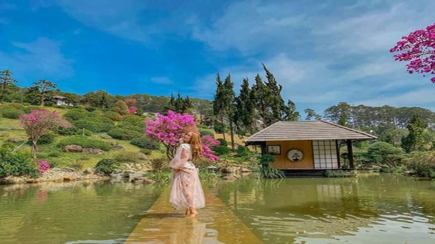 Check in QUE Garden ở Đà Lạt