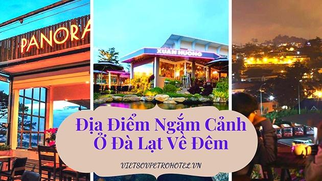 Địa điểm ngắm cảnh ở Đà Lạt về đêm