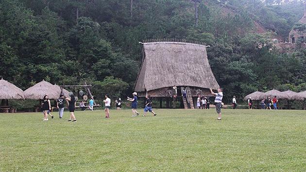 Không gian yên bình tại làng đồng bào dân tộc người K'HO