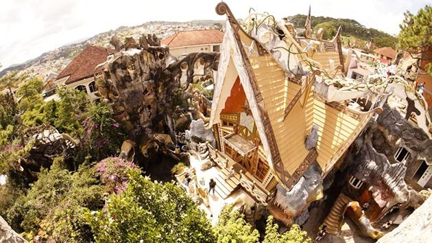 Tham quan Dalat Crazy House - Ngôi nhà điên ở Đà Lạt