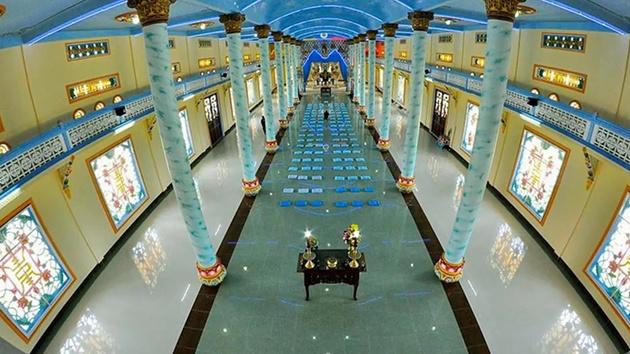 Thánh thất Cao Đài - Công trình kiến trúc đặc trưng ở Đà Lạt