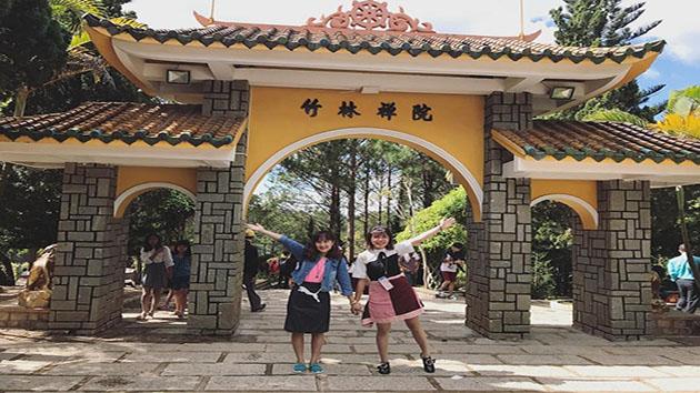 Thiền Viện Trúc Lâm - Ngôi chùa đẹp nhất ở Đà Lạt