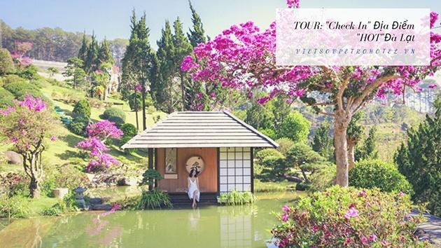 """Tour """"check in"""" địa điểm HOT Đà Lạt"""
