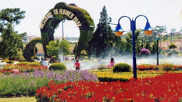 Vườn Hoa Thánh Phố Đà Lạt
