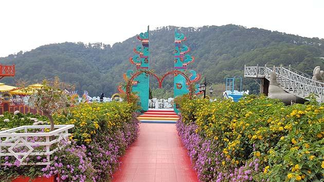 Vườn Thượng Uyển Bay Đà Lạt