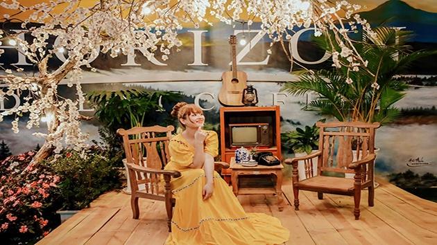 Check in quán cafe Horizon ở Đà Lạt