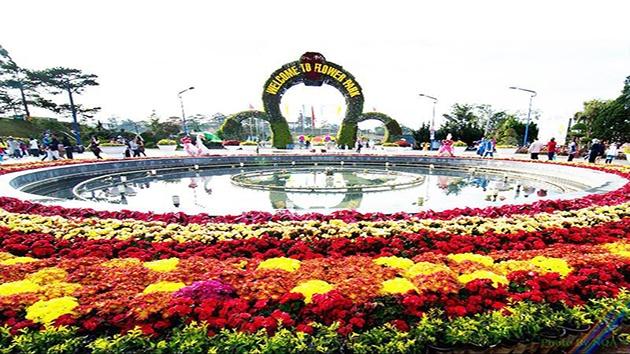 Check in Vườn Hoa Thành phố Đà Lạt