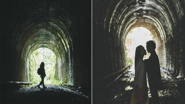 """Đường hầm Hỏa Xa - """"Sống ảo"""" đậm chất hoài cổ ở Đà Lạt"""