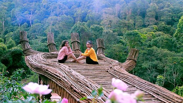 """Hoa Sơn Điền Trang - Địa điểm """"check in"""" tuyệt đẹp ở Đà Lạt"""