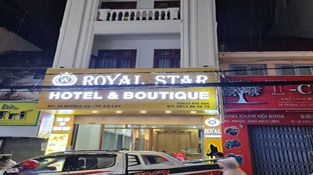 khách sạn Royal Star Đà Lạt