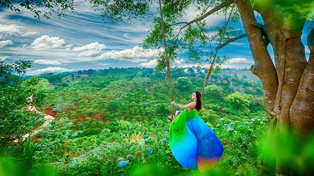 """Khu du lịch Dalaland - Thánh địa """"triệu view"""" tại Đà Lạt"""
