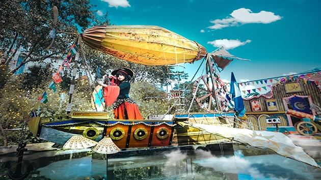 """Magic Land - """"Check in"""" gánh xiếc hoa bay ở Đà Lạt"""