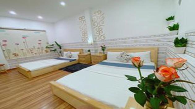 Phòng 2 giường khách sạn Dalat Hill