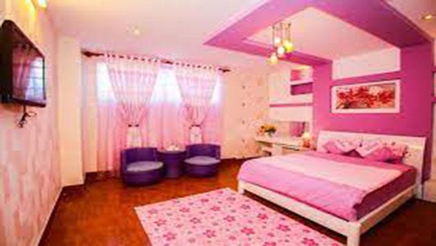 phòng 2 người khách sạn Hồng Tâm