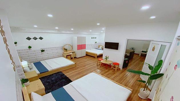 Phòng 3 giường khách sạn Dalat Hill