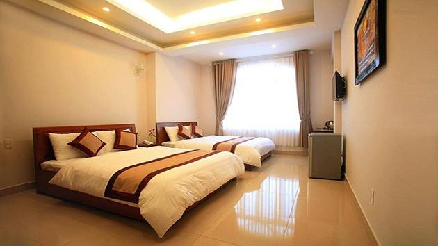 Phòng đôi khách sạn Ngọc Trai Vàng