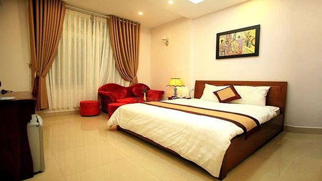 Phòng đơn khách sạn Ngọc Trai Vàng
