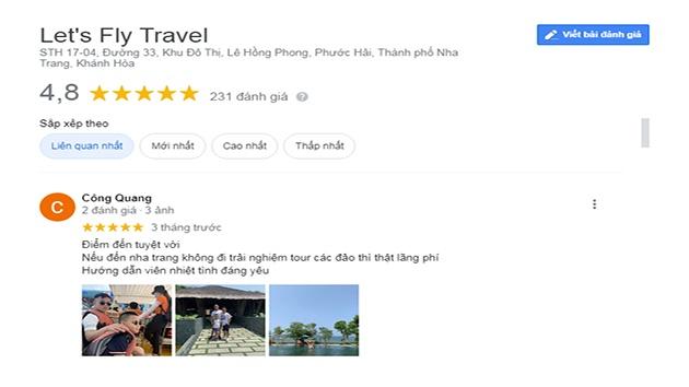 Đánh giá tour Nha Trang 1 ngày