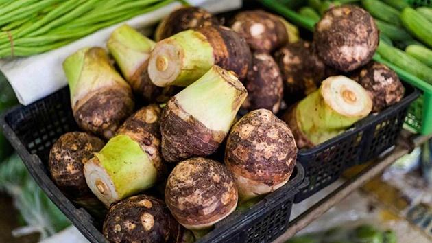 Khoai Môn - Loại lương thực thuần việt