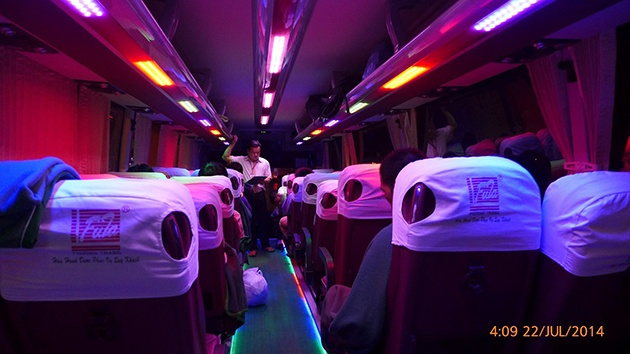 Kinh nghiệm đi xe khách Phương Trang