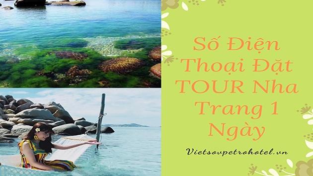 Số điện thoại đặt tour Nha Trang 1 ngày