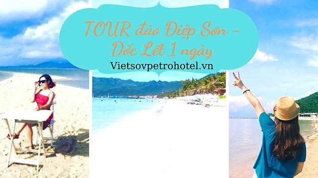 Tour đảo Điệp Sơn - Dốc Lết 1 ngày