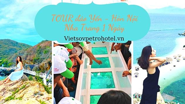 Tour đảo Yến - Hòn Nội Nha Trang