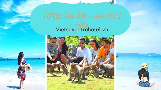 Tour Dốc Lết - đảo Khỉ 1 ngày