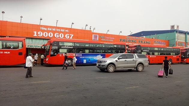 Xe khách Phương Trang tuyến Đà Lạt - Đà Nẵng