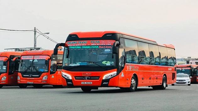 Xe khách Phương Trang tuyến Nha Trang - Đà Lạt