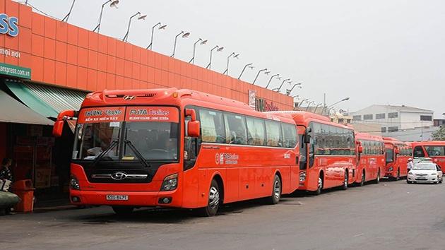 Xe khách Phương Trang tuyến TP. Hồ Chí Minh - TP. Đà Lạt